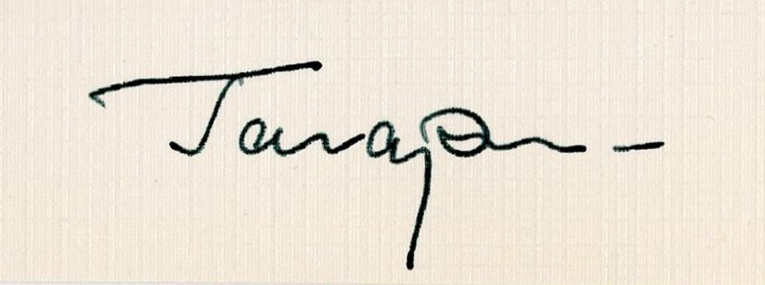 Yuri Gagarin, Soviet Cosmonaut, Signed Photo: First Man - 2