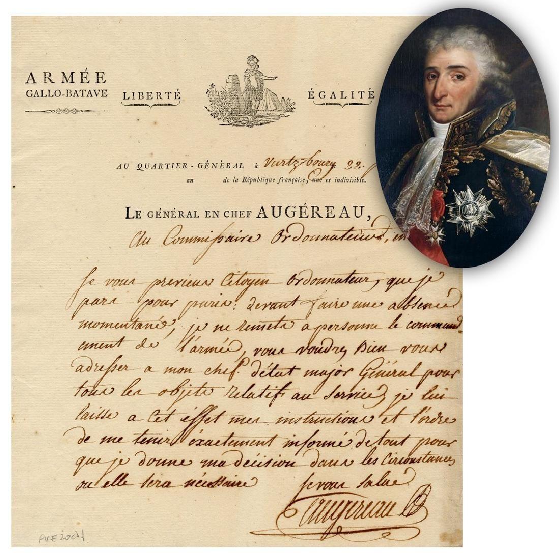 Napoleonic War General who Once Fled France after