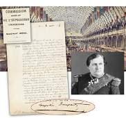 "Napoleon's Nephew ""Prince Napoleon"" Re: 1855 Paris"