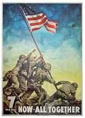 Iwo Jima Flag Raiser John H. Bradley's Copy of a Huge