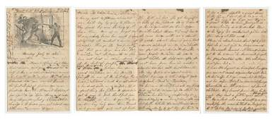 Civil War Letter by a Woman to Her Family Just after