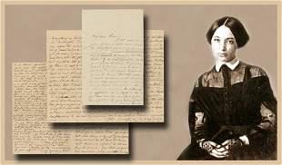 Varina Davis Autographed Letters Signed The Kansas