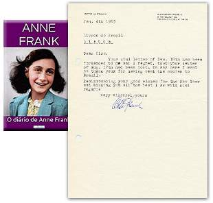 Anne Franks Diary Published in Portuguese Father