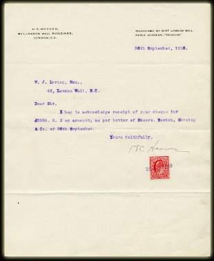 Herbert Hoover TLS Re Mining Stock Trading