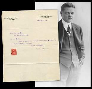 Herbert Hoover Freelance Mining Consultant TLS Re