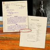 Herbert Hoover TLS Re: Multi-Million Pound Gold Mine in