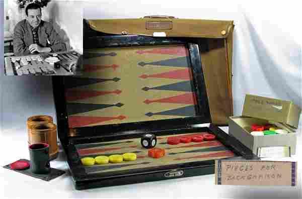 Cole Porter's Backgammon Set!