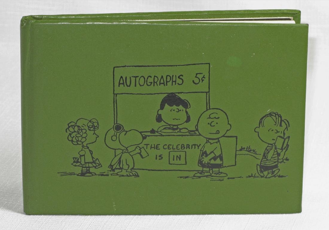 Charles Schulz Signed Drawing of Linus in Official - 3