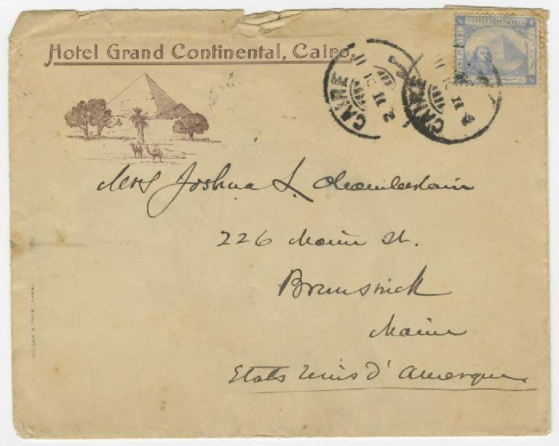 Autograph of Gettysburg Civil War hero Joshua Lawrence
