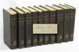 6 books on John Adams signed by Millard Fillmore incl 2