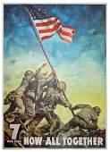 Iwo Jima flag raiser John Bradley's copy of Official