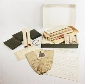Ulysses S. Grant archive including his pair of white