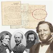 Judah P. Benjamin Superb War-Dated Great Content ALS
