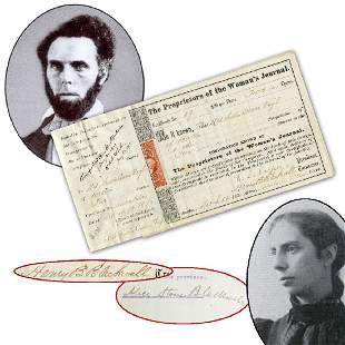 Henry Browne Blackwell Alice Stone Blackwell Sarah
