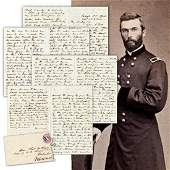 General Thomas H. Ruger ALS Re: Lincoln's Assassination