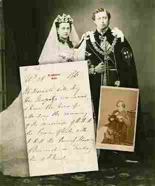 Benjamin Disraeli ALS He Will obey Her Majestys