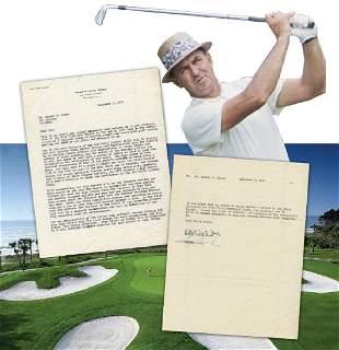 Sam Snead Robert Trent Jones TLS Fantastic Golf