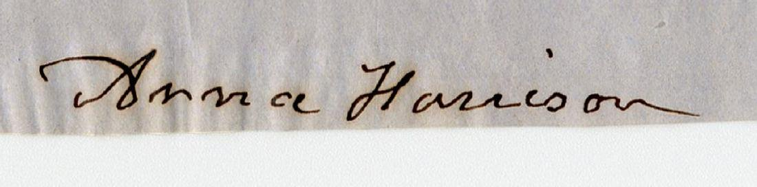 "Anna Harrison ALS Re: Her ""lamented Husband"" - 2"
