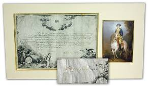 George Washington Signed Document For a Rev War Surgeon