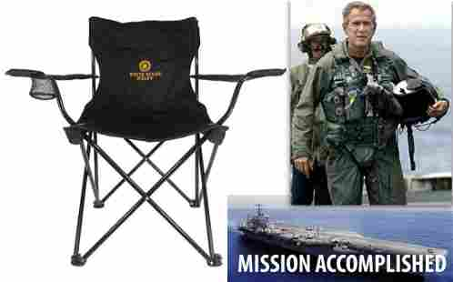 White House Staff Deck Chair Used Aboard USS Abraham