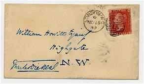 Charles Dickens, Superb Signed & Addressed Envelope