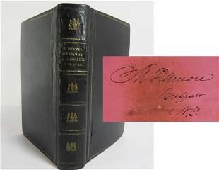 Millard Fillmore Signed Book Register of All Officers