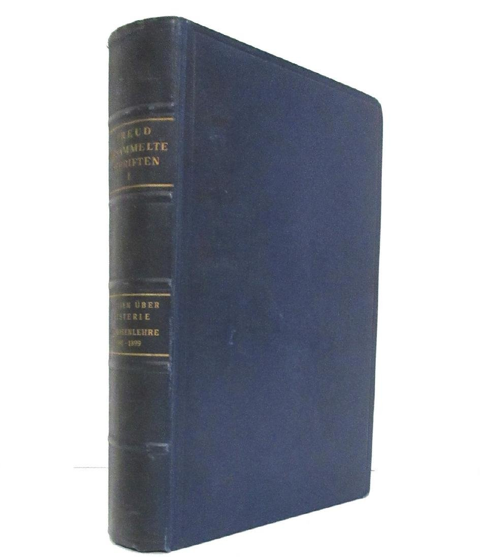 Sigmund Freud Signed 1st Printing of His Collected - 2