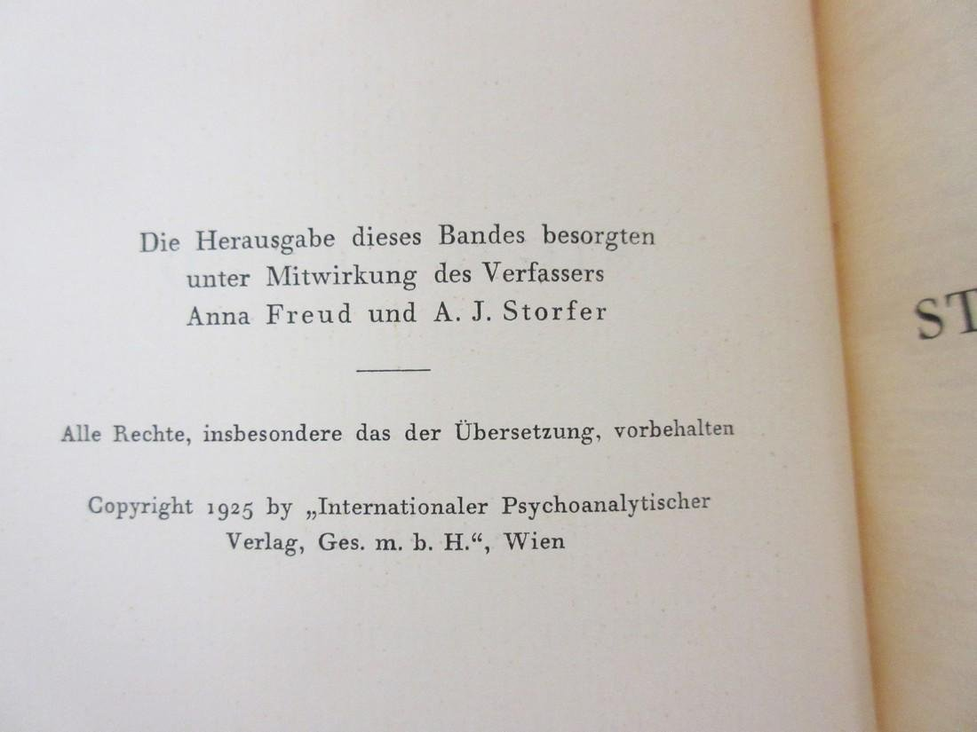 Sigmund Freud Signed 1st Printing of His Collected - 6