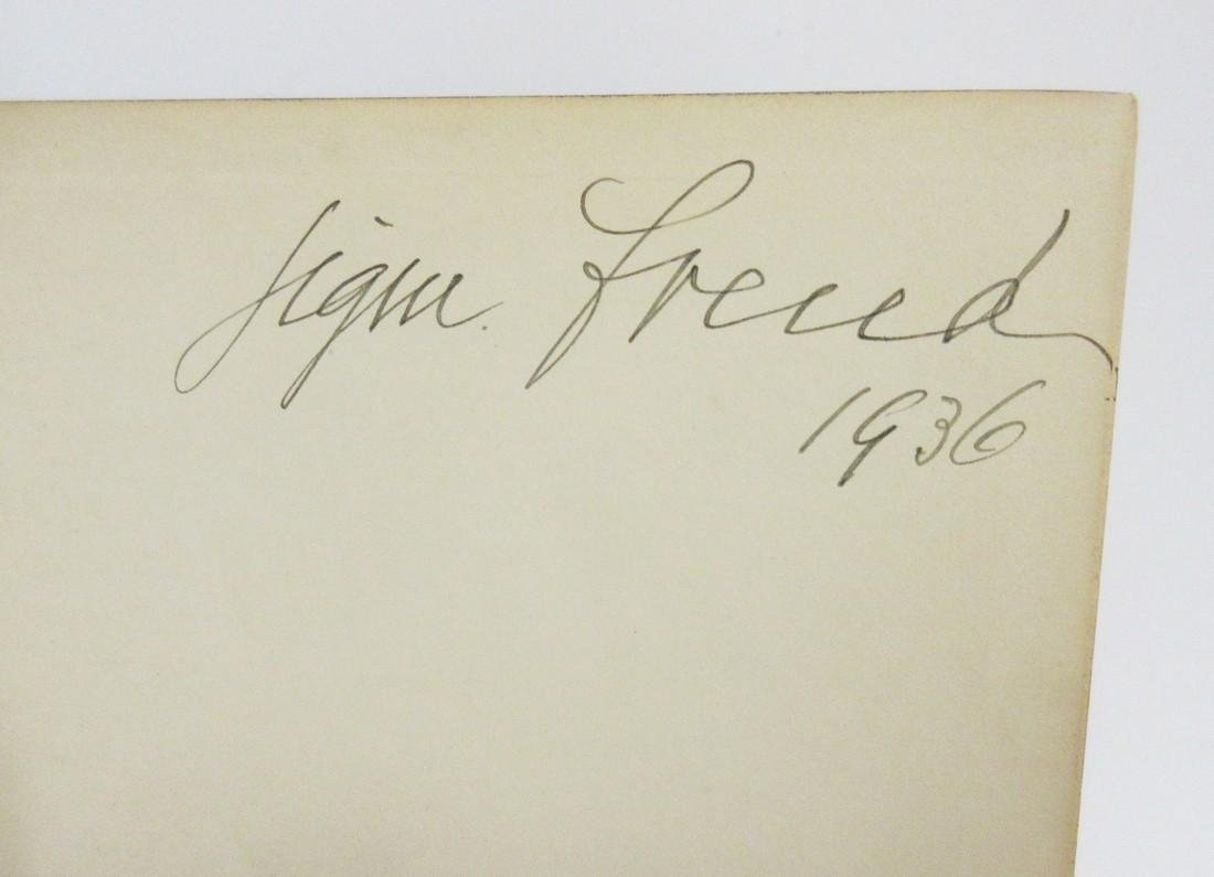 Sigmund Freud Signed 1st Printing of His Collected - 7
