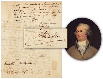 Alexander Hamilton ALS Moving Forward on Compromise of