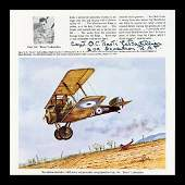 """Red Baron Death Witness Capt. """"Boots"""" LeBoutillier Who"""