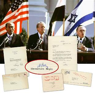 Begin Carter The Treaty of Peace we have signed