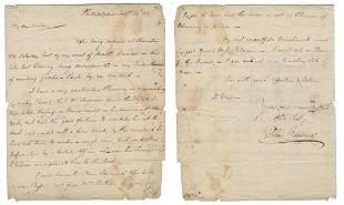 Elias Boudinot Revolutionary War Dated ALS