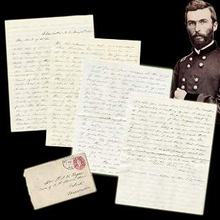 Union Gen Thomas H Ruger ALS Re Reconstructing