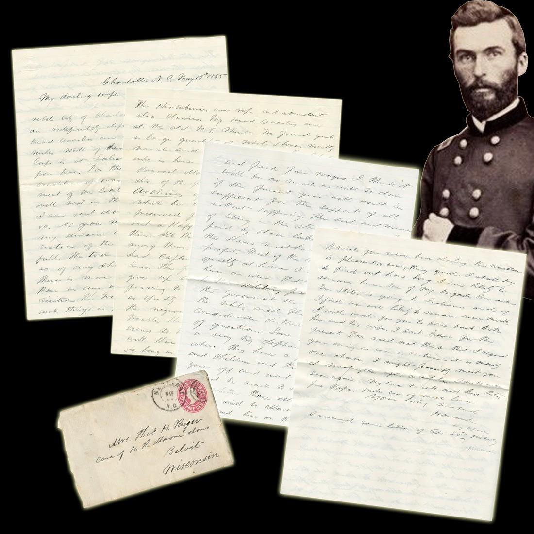 Union Gen. Thomas H. Ruger ALS Re: Reconstructing