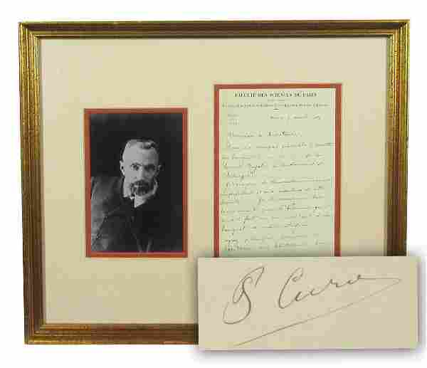 """Pierre Curie Rare ALS Re: """"Royal Society of Surgery and"""