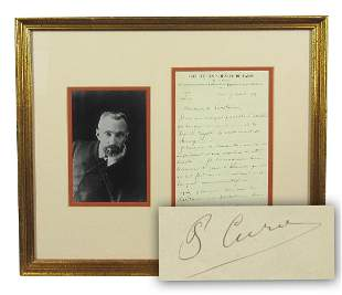 Pierre Curie Rare ALS Re Royal Society of Surgery and
