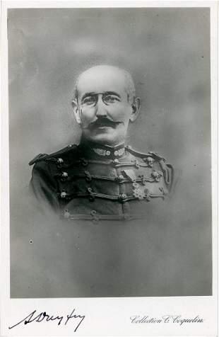 Alfred Dreyfus Superb Signed Photo