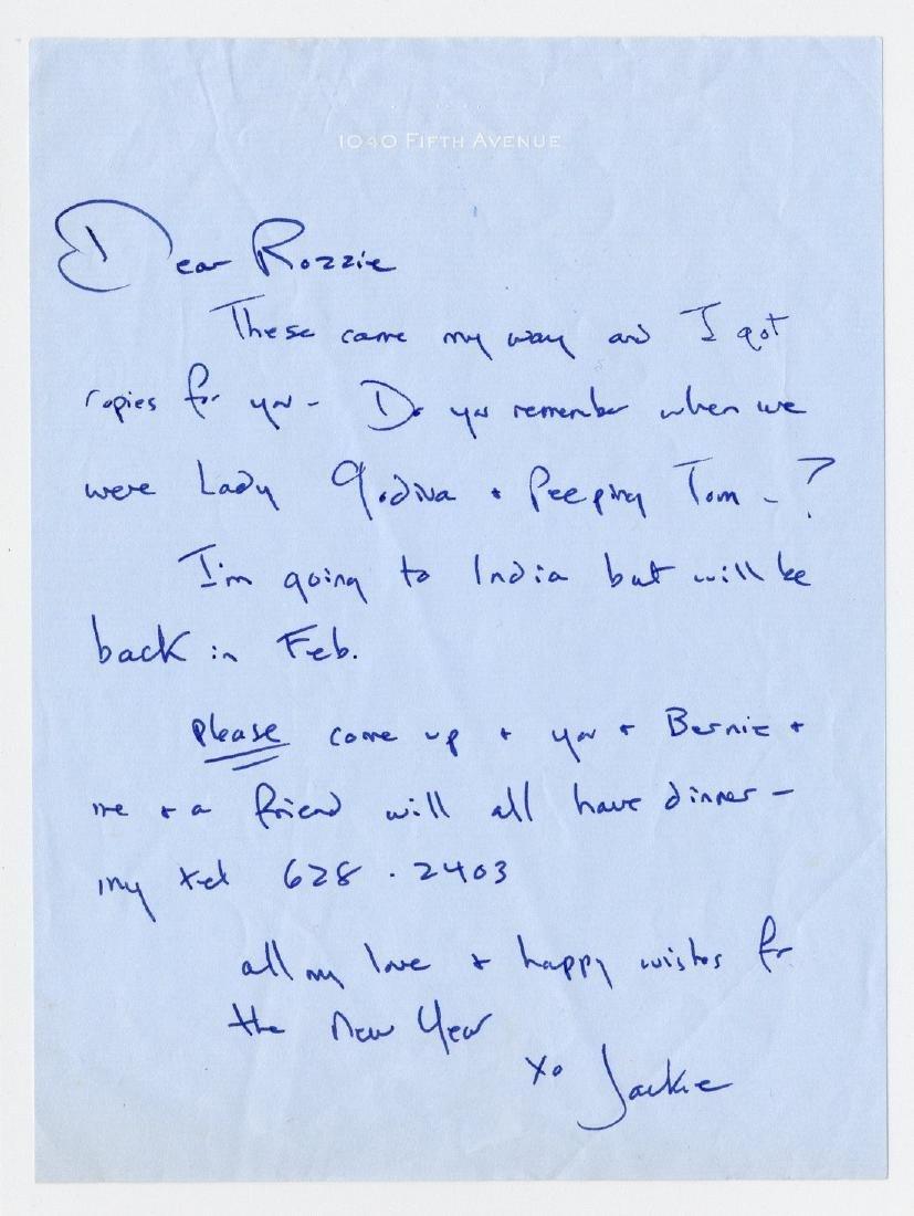 Jackie Kennedy as Peeping Tom - 3