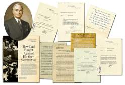 Truman Archive, Including 4 Presidential Letters