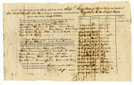 Fascinating Nantucket Whaler Certificate of Protection