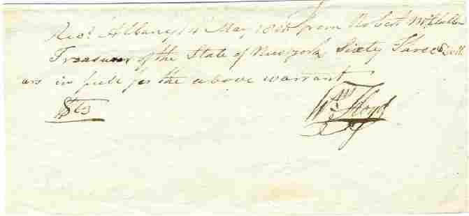 William Floyd Declaration Signer from NY Pristine
