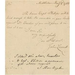Samuel Huntington Declaration Signer from CT Gorgeous