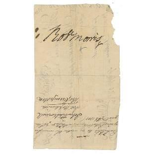Robert Morris Declaration Signer Endorses a