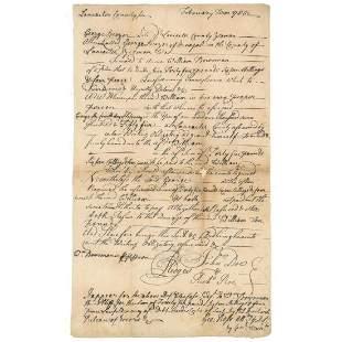 George Ross Declaration Signer Excellent DS