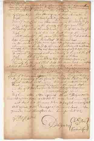 George Ross Declaration Signer ADS Twice Signed