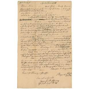 James Smith Declaration Signer Rare Superb Full