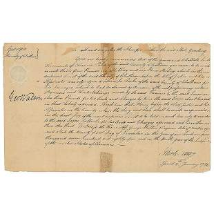 George Walton Declaration Signer from GA Boldly