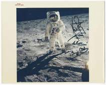 Neil Armstrong, Buzz Aldrin, Michael Collins, Signed