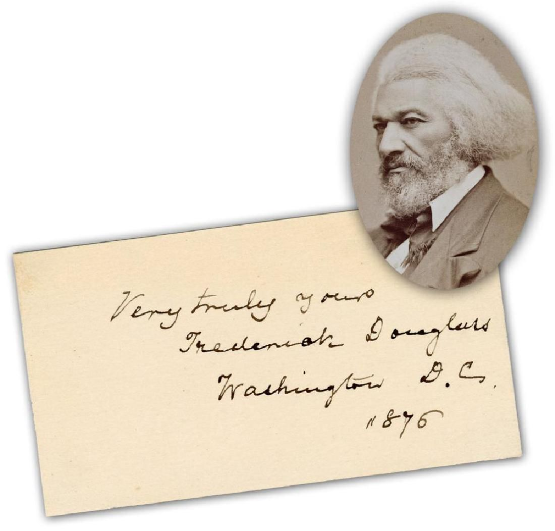 Frederick Douglass Lovely Signature